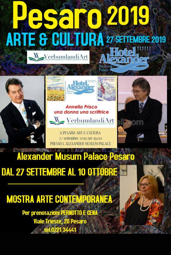PESARO ARTE&CULTURA 2019 ALL' ALEXANDER MUSEUM PALACE, V Edizione