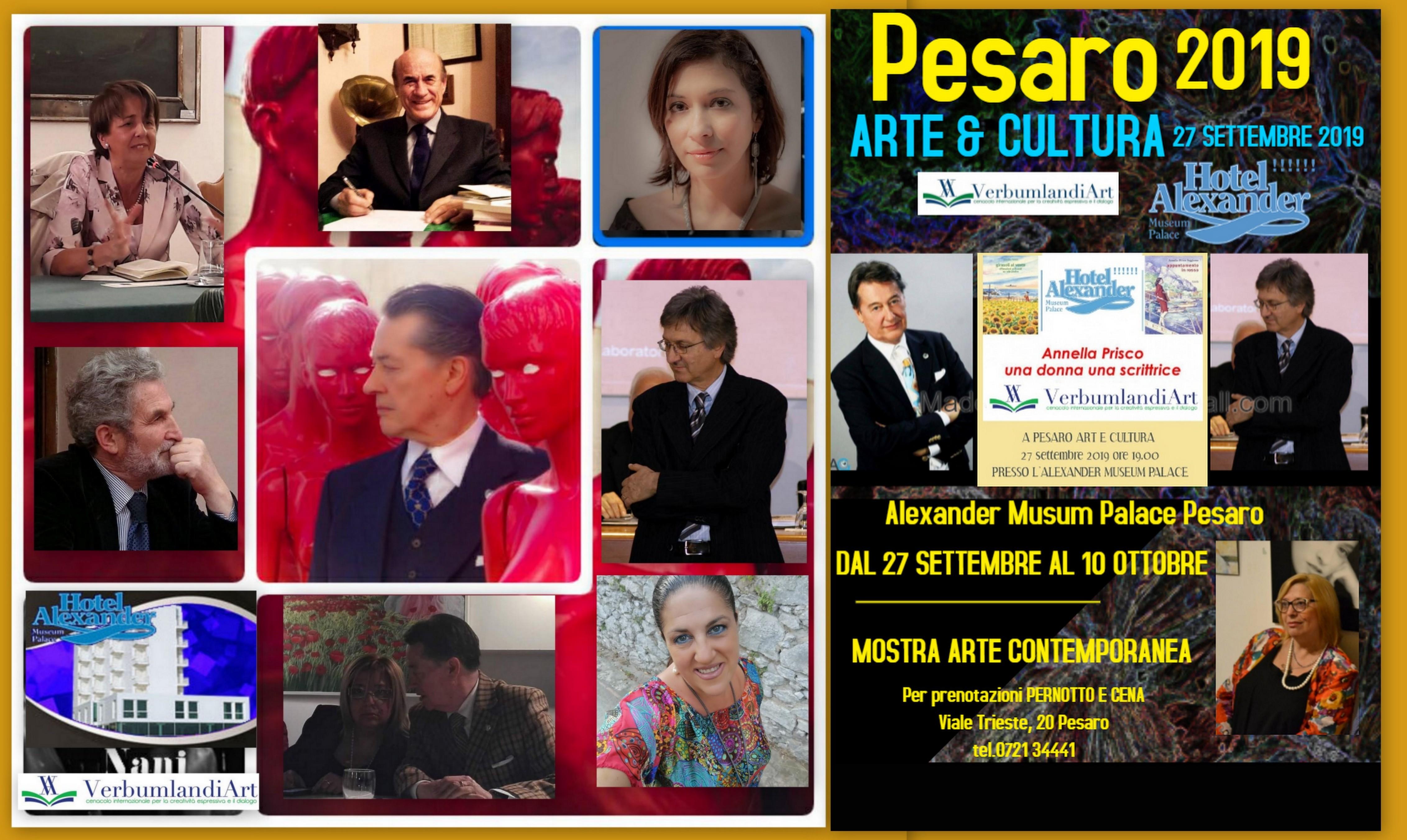 """""""PESARO ARTE & CULTURA 2019"""" V EDIZIONE"""