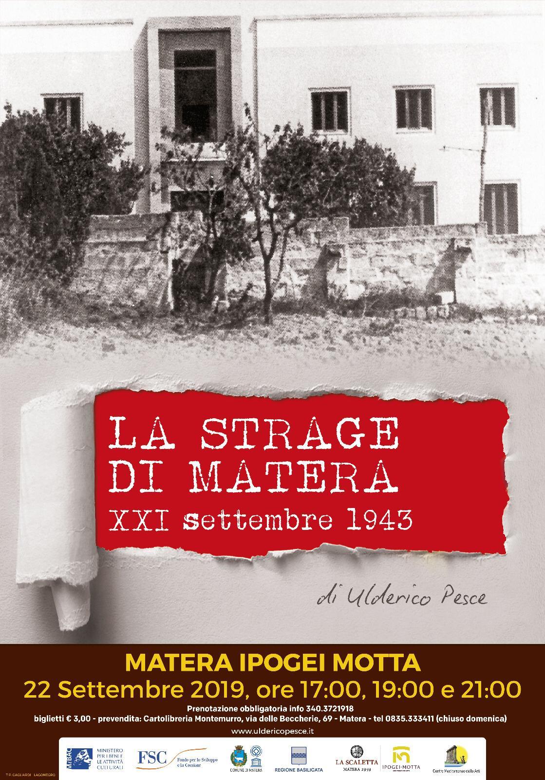 La Scaletta ricorda Francesco Paolo Nitti, uomo simbolo della Resistenza a Matera