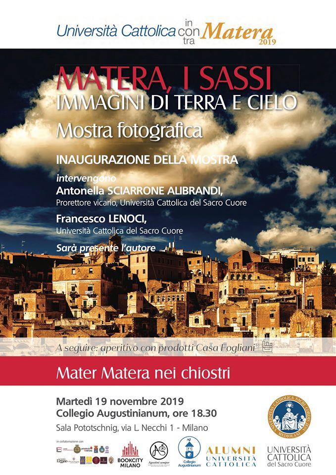 MATERA 2019 INCONTRA BOOKCITY MILANO