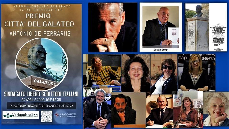 """Tabula fati editrice è Main Sponsor del Premio Letterario internazionale """"Città del Galateo"""" 2020"""