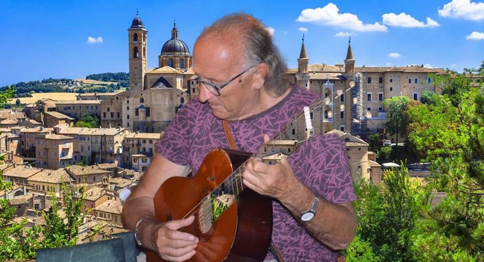 Urbino e la sua università nella canzone di Mimmo Carrino,  il professore di Roberto De Giorgi