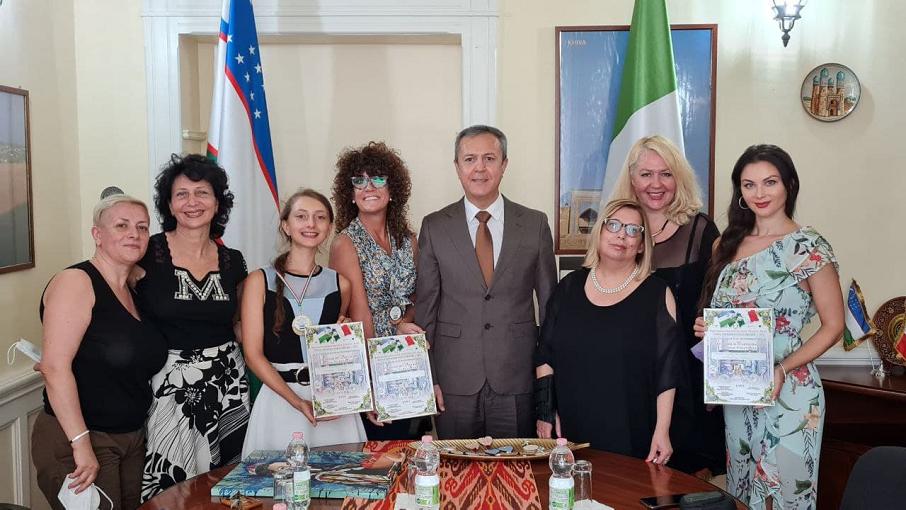 Un ponte d'Arte tra l'Italia e l'Uzbekistan