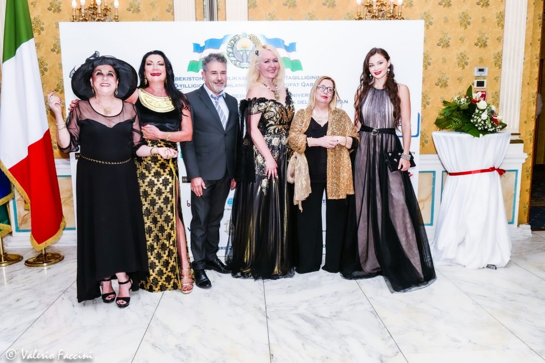 Ricevimento di Gala dedicato al 30° Anniversario dell'Indipendenza di Stato della Repubblica dell'Uzbekistan a Roma.